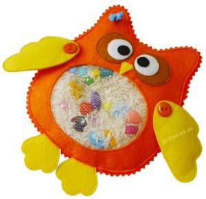 игрушка сова искалочка