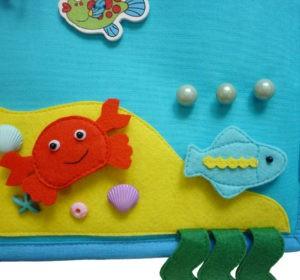 развивающая книжка рыбка