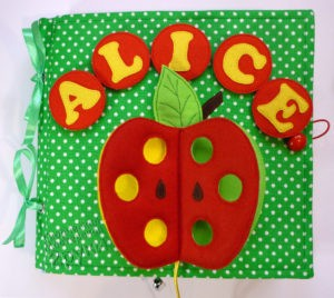 развивающая книжка Alice