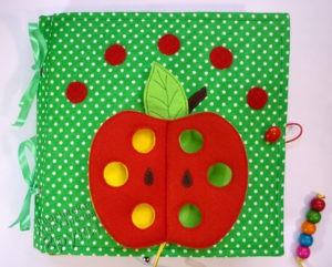 развивающая книжка красное яблоко