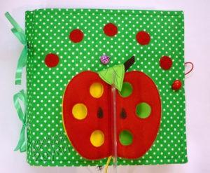 развивающая книжка яблоко
