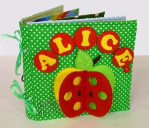развивающая книжка Алиса